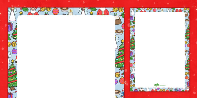 Christmas Themed Editable Display Poster - christmas, editable, display, poster