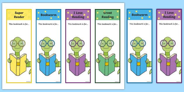 bookworm bookmark template editable bookworm bookmarks editable bookworm bookmarks
