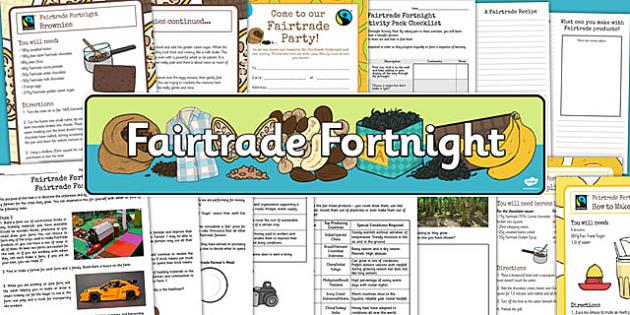 fairtrade fortnight homework