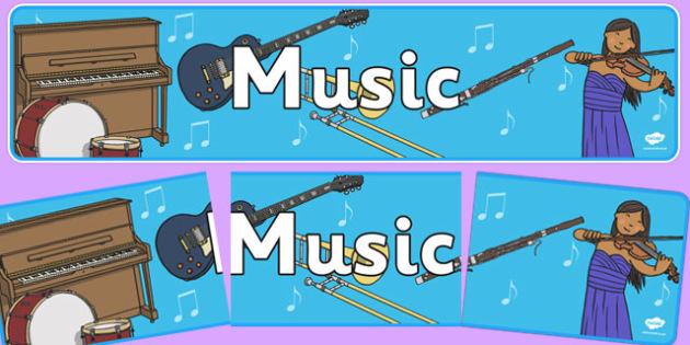Music - Sound Arts Display Banner NZ - new zealand, music, display banner, display, banner
