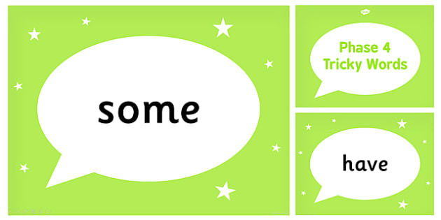 Phase 4 Tricky Words PowerPoint - phase 4, tricky, powerpoint