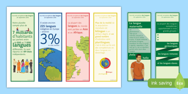 Interesting Facts about Languages in French Bookmarks