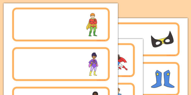 Superhero Classroom Job Cards - fun, display, roles, responsibility, ks1, ks2, key stage, record, schedule, routine, organisation, management, notes, information