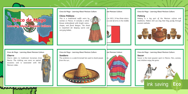 cinco de mayo learning about mexican culture fact cards cinco de mayo rh twinkl com
