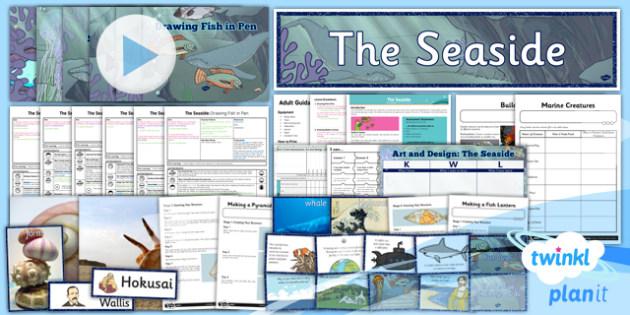 Art: The Seaside UKS2 Unit Pack