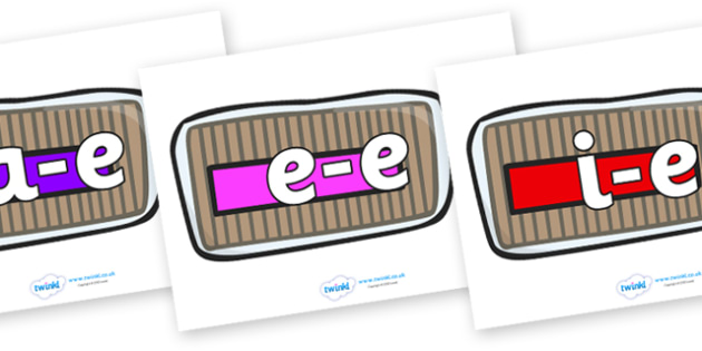 Modifying E Letters on Bread Loaves - Modifying E, letters, modify, Phase 5, Phase five, alternative spellings for phonemes, DfES letters and Sounds