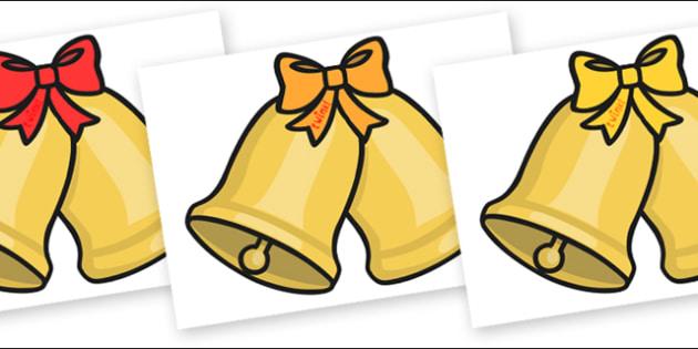 Christmas Editable A4 Bells - christmas, xmas, editable, image, editable image,  bells, A4 bells, editable bells, display bells, bells for display, christmas bells, editable picture, editable display image, display, display picture