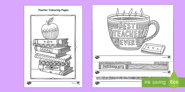 Teacher Mindfulness Colouring Pages   Teacher De Stress Pack, Colour,  Relax, Mindfulness