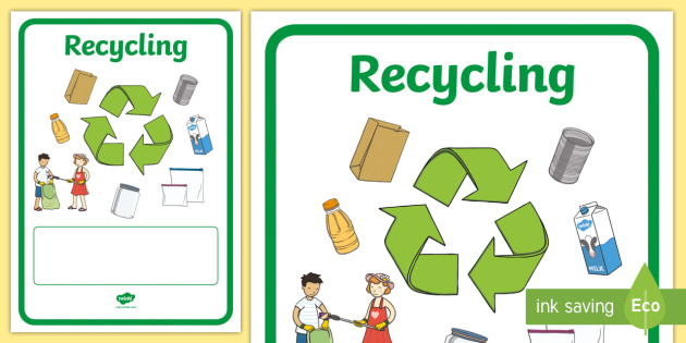 recycling comprehension activity