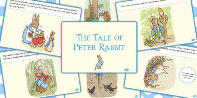 The Tale of Peter Rabbit Story - peter, rabbit, story, tale
