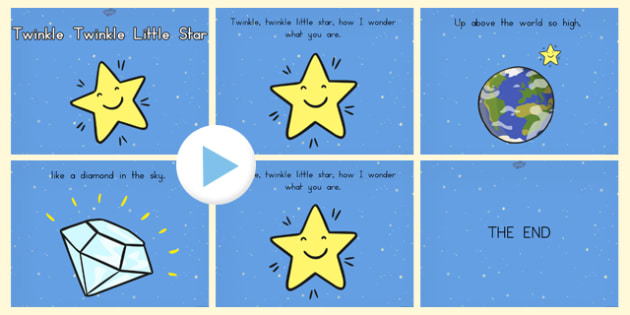 Twinkle Twinkle Little Star PowerPoint - australia, twinkle, star