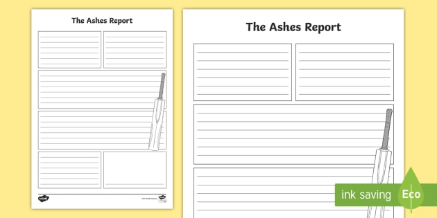 sport report writing