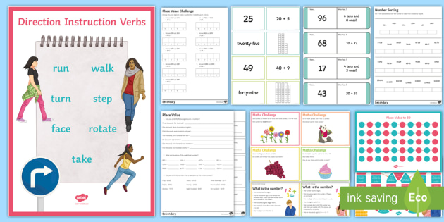 KS3 Maths Place Value Catch Up Resource Pack - ks3, maths, place