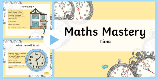 maths mastery activities year 3 time powerpoint australia maths resource. Black Bedroom Furniture Sets. Home Design Ideas
