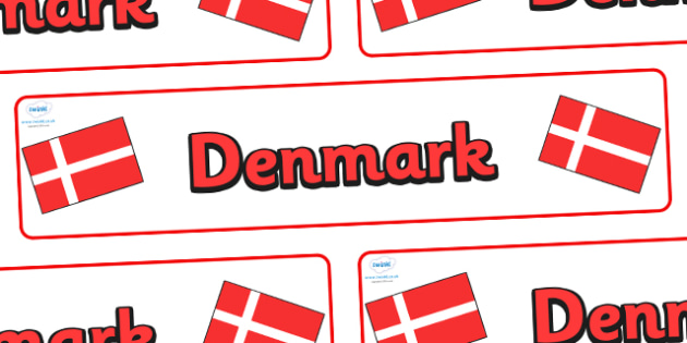 Denmark Display Banner - Denmark, Olympics, Olympic Games, sports, Olympic, London, 2012, display, banner, sign, poster, activity, Olympic torch, flag, countries, medal, Olympic Rings, mascots, flame, compete, events, tennis, athlete, swimming
