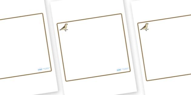 Sparrow Themed Editable Classroom Area Display Sign - Themed Classroom Area Signs, KS1, Banner, Foundation Stage Area Signs, Classroom labels, Area labels, Area Signs, Classroom Areas, Poster, Display, Areas