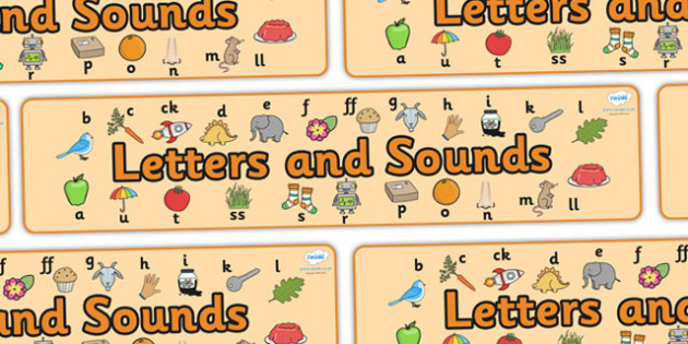 Phase 2 Display Banner - Phase 2, phase two, Phases, Foundation, Literacy, Letters and Sounds, display banner, Alphabet, A-Z letters, Alphabet flashcards, letters and sounds, DfES, display