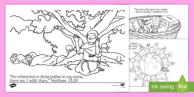 540 Top Colouring Pages The Bible  Images