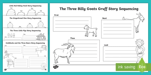 Traditional Tales Story Sequencing Worksheets - 46+ Free Printable Story Sequencing Worksheets For Kindergarten Images