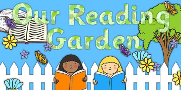 Reading Garden Display Pack - Reading, Garden, Display, Pack