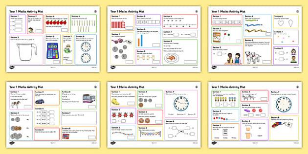 Year 1 Summer 2 Maths Activity Mats