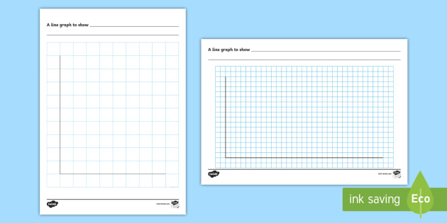 Blank Line Graph Template (teacher Made)