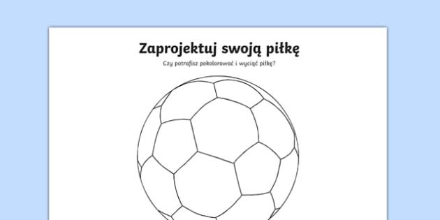 Zaprojektu swoją piłkę po polsku