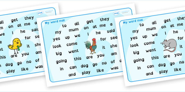 FS2 Word Mat Dyslexia - fs2 word mat, foundation stage 2 word mat, dyslexia fs2 word mat, dyslexia font fs2 word mat, sen font word mat, sen phonics words