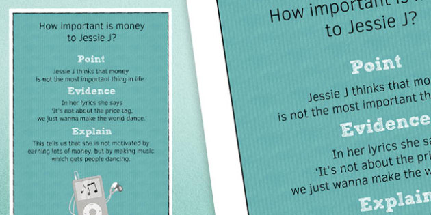 Point Evidence Explain Poster 3 - point, evidence, explain, poster, display, classroom, ks3