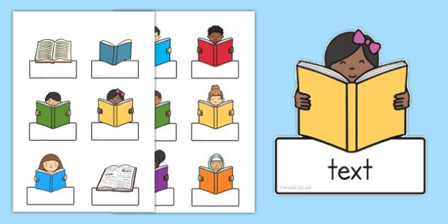 Editable Book Labels - labels, book labels, editable labels