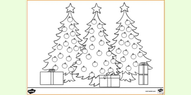 Free Printable Christmas Coloring Pages Colouring Sheets