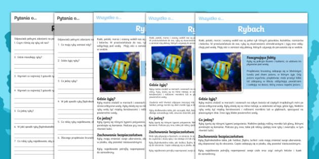 Czytanie ze zrozumieniem Ryby