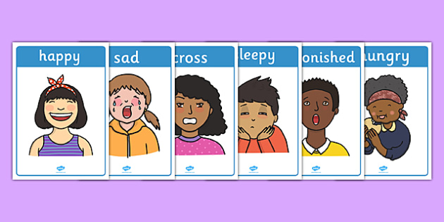 Emotions Display Posters - Emotions, Feelings, Special Needs