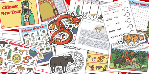 Chinese New Year Story Resource Pack - resource, pack, story