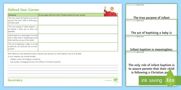 Infant Baptism Worksheet / Activity Sheets - Infant Baptism