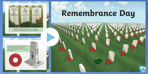 Remembrance Day Information PowerPoint - Key Stage Two, Remember, November, Poppy Day, Assembly
