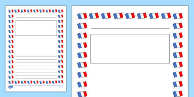 My French Fact File Template - cfe, fact file, template, french