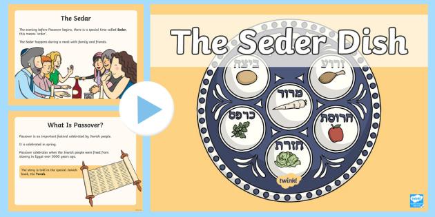 Seder PowerPoint - judaism, passover, egg, chicken bone ...