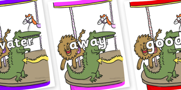 Next 200 Common Words on Trick 3 to Support Teaching on The Enormous Crocodile - Next 200 Common Words on  - DfES Letters and Sounds, Letters and Sounds, Letters and sounds words, Common words, 200 common words