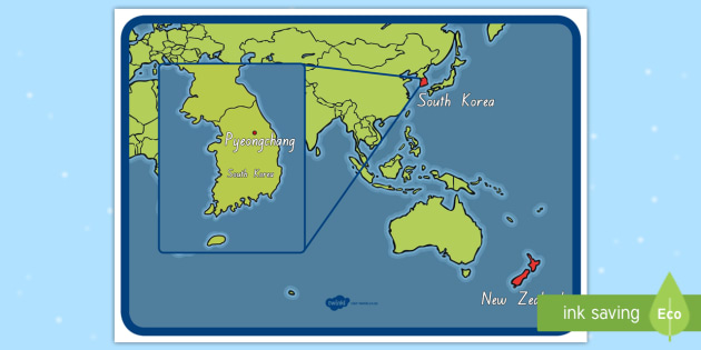 Where in the World Is South Korea? Map - South Korea ...