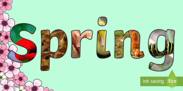 Image result for spring title