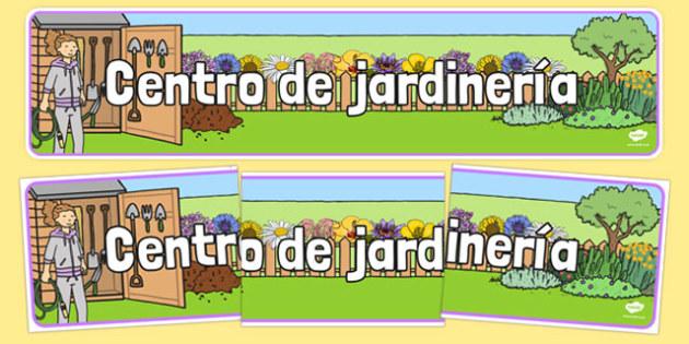 Centro de jardinería - spanish, Banner, display, garden centre, plants, plant, topic