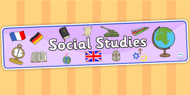 Social Studies Display Banner - social studies, display banner, banner, display, banner for display, display header, header for display, social study banner