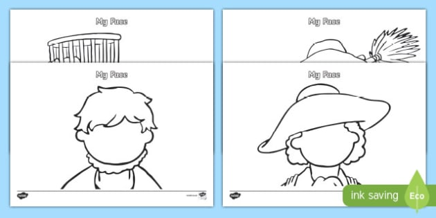 Great Fire of London Themed Blank Faces Template Activity