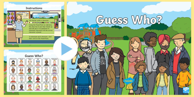 Guess Who Interactive Class Game Powerpoint Class Games Games