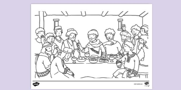 Free Bible Story Colouring Sheets (teacher Made)