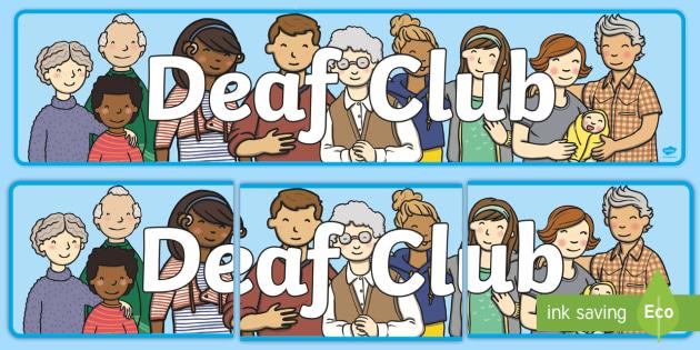 Deaf dating club uk