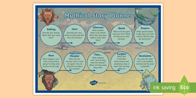 Mythical Story Planner Mythical Story Planner Myths