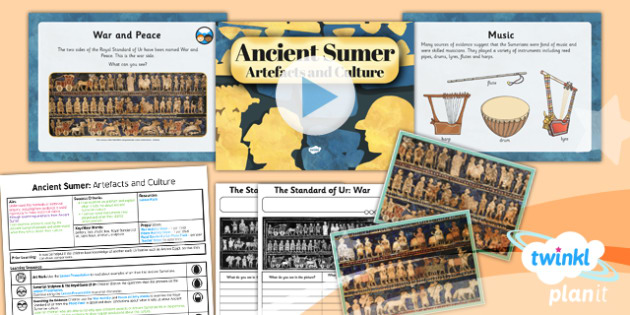History: Ancient Sumer: Artefacts and Culture UKS2 Lesson Pack 5