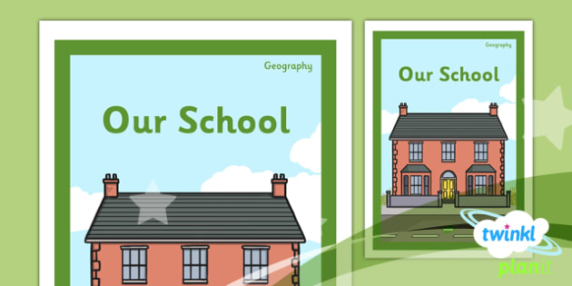 Geography: Our School Year 1 Unit Book Cover